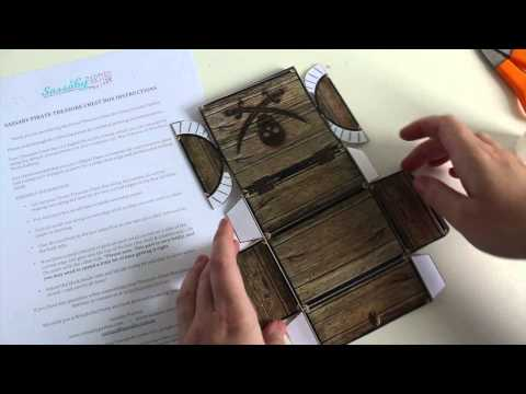 Pirate Treasure Chest Box Tutorial