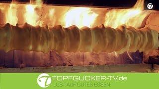 Wie Wird Ein Echter Salzwedeler Baumkuchen Hergestellt? | Topfgucker-tv