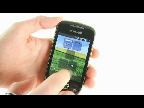 Samsung Galaxy Mini S5570 UI demo