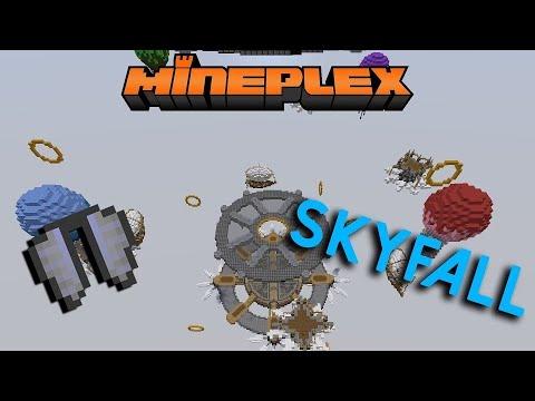 Minecraft 1.2 | Mineplex's SKYFALL NEW SERVER FOR MC 1.2!! + GAMEPLAY!! (Bedrock Edition)