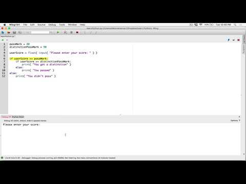 53. Nested If statements - Learn Python