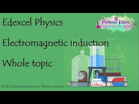 The whole of Electromagnetic Induction. Edexcel 9-1 GCSE Physics or combined science revision unit 1