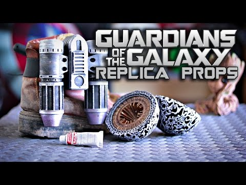Guardians of the Galaxy Replica Props | Star-Lord Cosplay | How To | 3D Printed