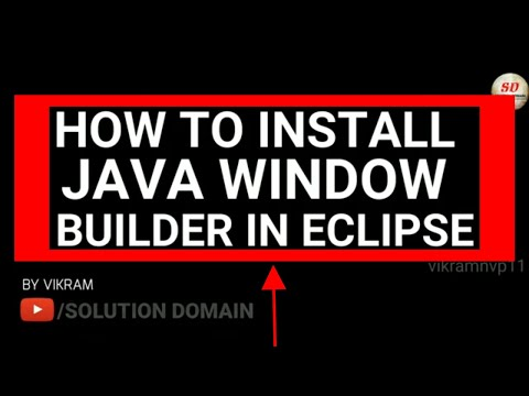 how to install window builder(java swings) in eclipse 2018-19