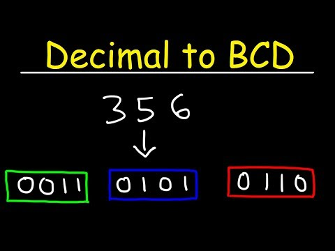 Decimal to BCD