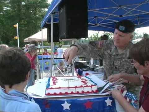 Army Cake Cutting