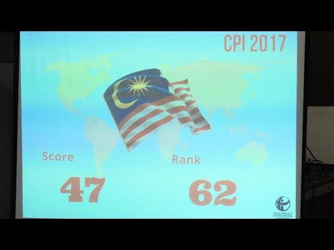 Malaysia drops two points in corruption index