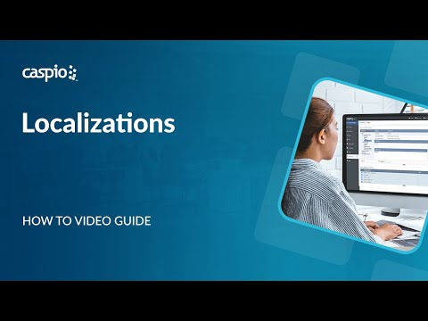 How to Enhance Your Caspio Applications Using Localizations