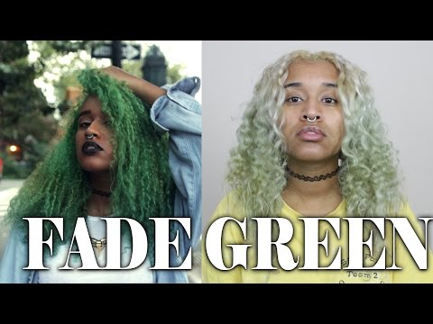 How to fade Green Hair Dye | Get Rid of Semi-Permanent Hair Dye