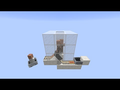 Minecart Villager Pick Up System for Minecraft 1.9