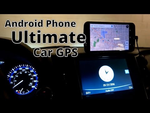 Turn Your Old Android Phone/Tablet into the Ultimate Car GPS