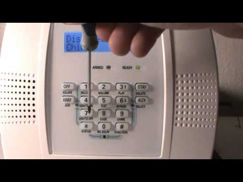 How to change your user - master code on Honeywell Lynx Plus Keypad Alarm panel