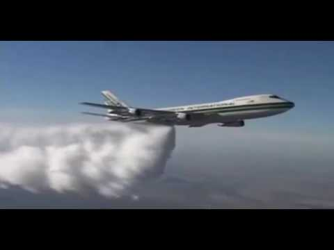 Chemtrails/ pilot says. Its a necessary evil, chemtrails are true