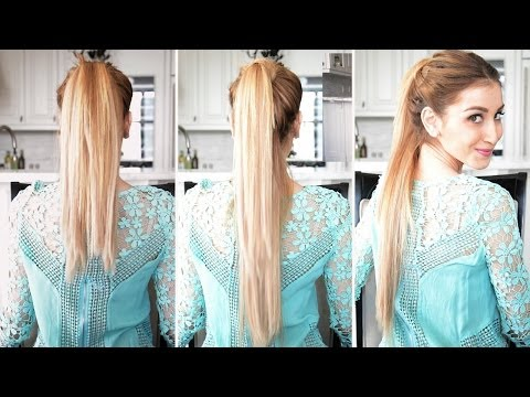 How to Fake A Longer Ponytail | Fancy Hair Tutorial