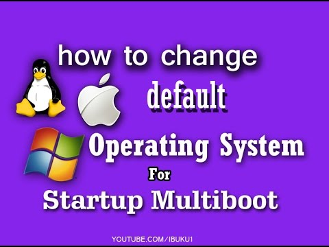 2 Ways : change the default operating system for startup multi boot in windows 10