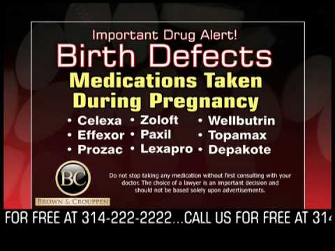 Drug Alert Celexa Effexor Prozac Zoloft Paxil Lexapro Wellbutrin Topamax Depakote   Terry Crouppen