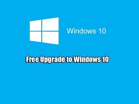 Free Upgrade to Windows 10
