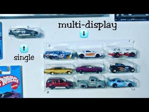 DIY Hot Wheels display case