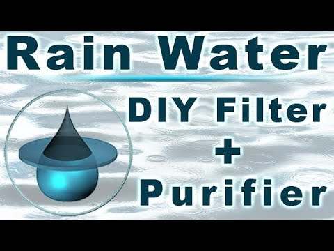 rainwater filtration - rainwater harvesting, filtering  and storage system