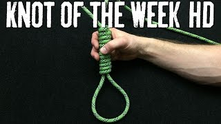 How To Tie The Hangman S Noose Its Knot Of The Week Hd