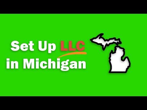 Set Up an LLC in Michigan