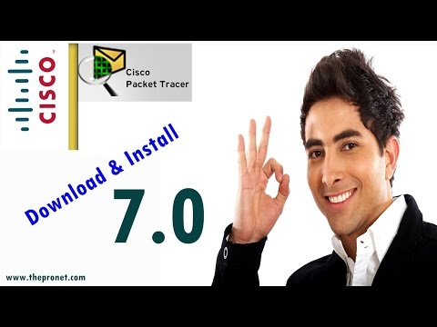 How to Download & Install Cisco Packet Tracer Version 7.0 on Windows