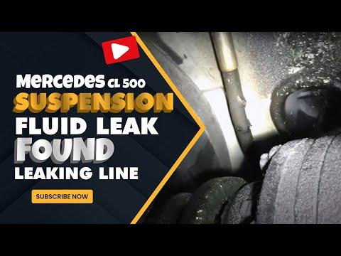 Mercedes CL 500 Suspension Fluid Leak