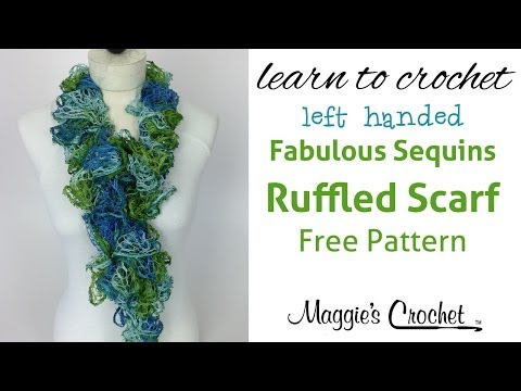 Episode 4 Crochet Ruffle Scarf Easy Ruffle Scarf Instructions