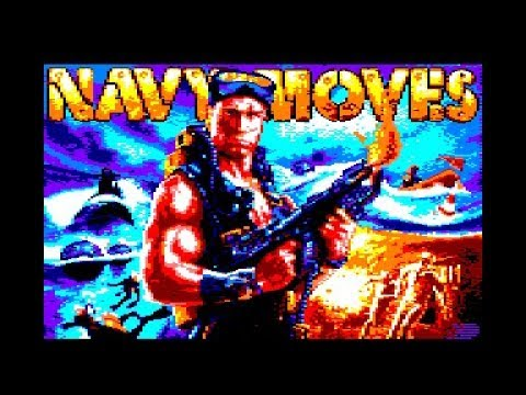 Navy Moves Review for the Amstrad CPC by John Gage