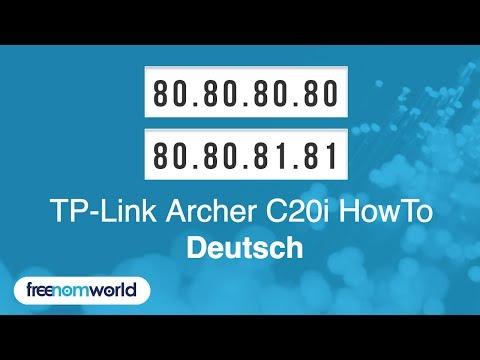 Freenom World TP-Link Archer C20i HowTo (German)