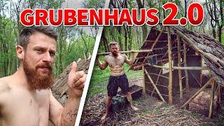 Das alte GRUBENHAUS nach 1 Jahr besucht! Der BEGINN vom GRUBENHAUS 2.0 | Fritz Meinecke