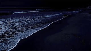 All You Need To Fall Asleep - Ocean Sounds For Deep Sleeping With A Dark Screen And Rolling Waves