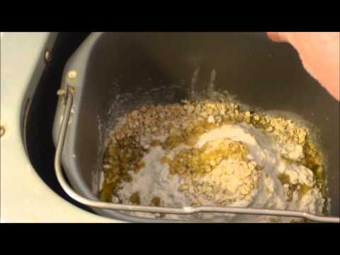 Make your own bread using the Sunbeam bread machine
