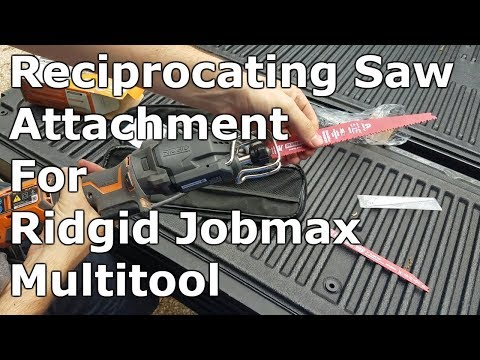 Reciprocating Saw Attachment for Ridgid Multi-Tool