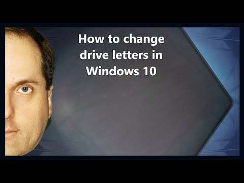 How to change drive letters in Windows 10