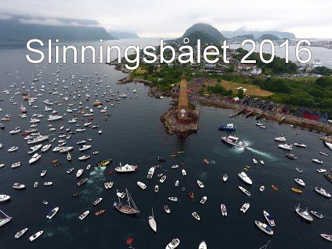 Slinningsbålet 2016 - the world's largest bonfire 47.4 m high!