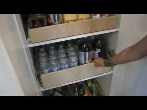 Gliding Shelf Solutions | Pull Out Sliding Shelves Toronto ON