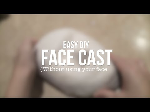 How to Make a Face Cast (Without using your face)