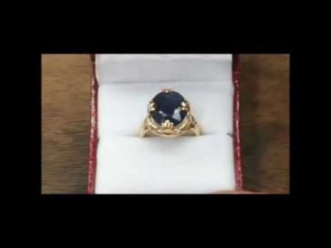 YARING PLATERO Video 49 - Making of blue sapphire engagement ring