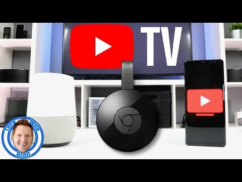 Cast YouTube TV to Chromecast from Phone & Google Home