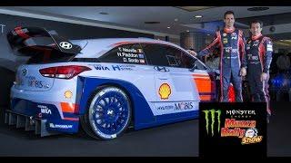 Dani Sordo presenta la Hyundai i20 Coupe WRC al Monster Energy Monza Rally Show 2016