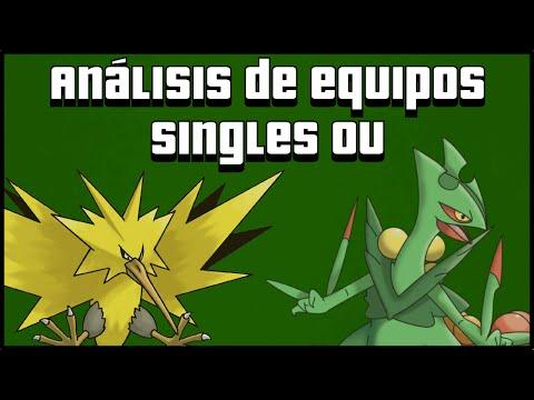 Análisis equipos singles OU - Team Mega Sceptile