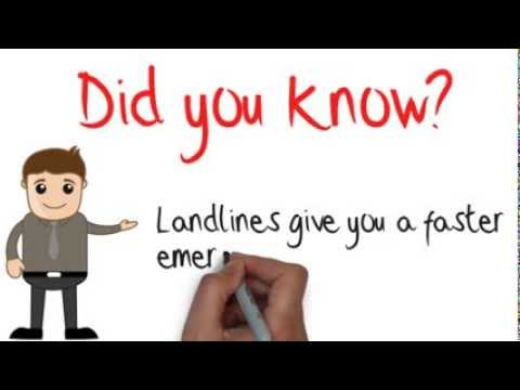Did you know your landline helps in emergencies?