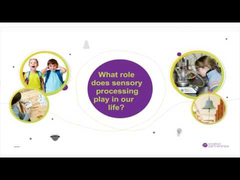 An Introduction to Sensory Processing webinar April 6 2017