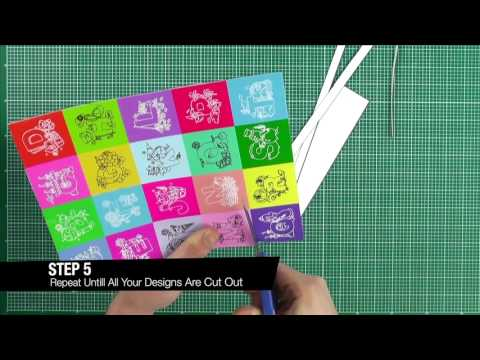 Learn how to make your own fridge magnets