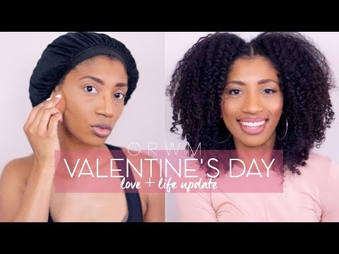 Valentine's Day GRWM Chit Chat, LOVE + Life Update