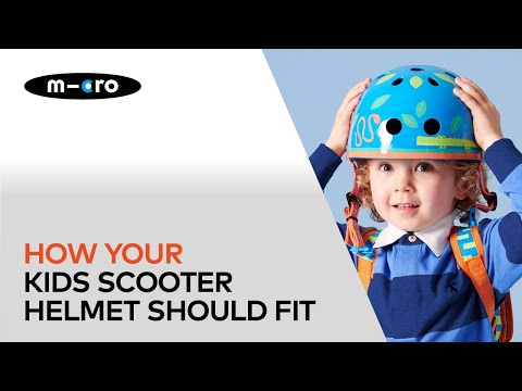 How your kids scooter helmet should fit