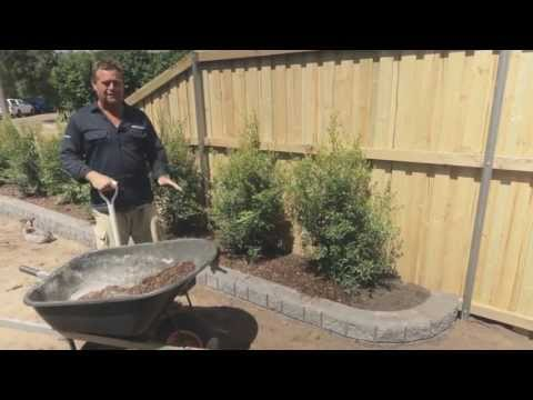 DIY Garden wall Video - Miniwall® garden how to video