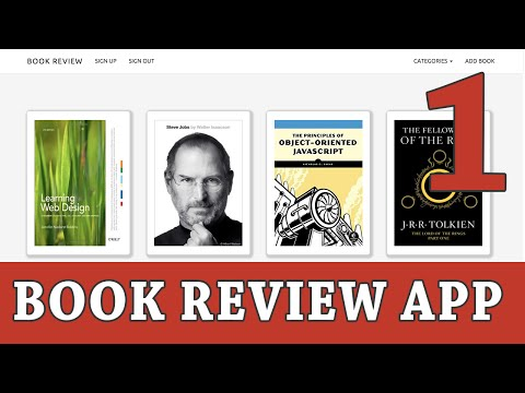 Ruby on Rails Tutorial | Build a Book Review App - Part 1