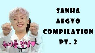 ASTRO [아스트로] Sanha Aegyo Compilation Pt. 2